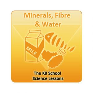 Key Stage Two Minerals, Fibre and Water