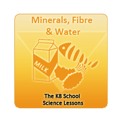 Minerals, Fibre and Water