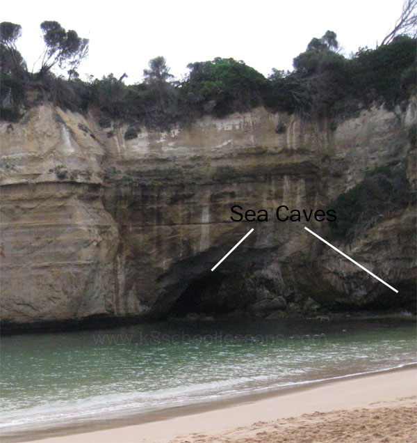 sea caves images