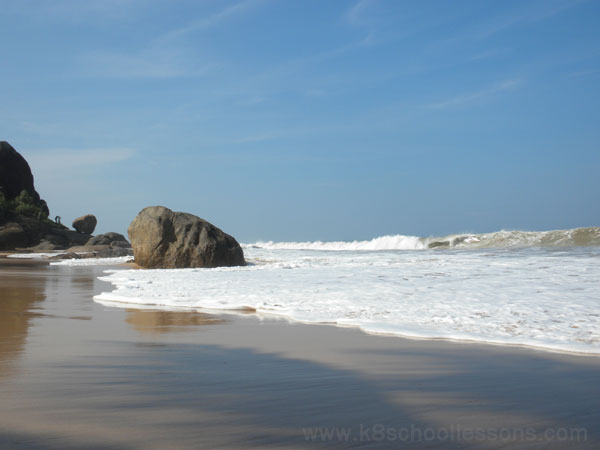 Unawatuna Beach, Galle, Sri Lanka