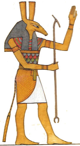 Egyptian Gods and Goddesses - Seth