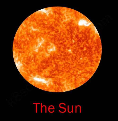 the solar system leader sun