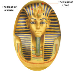 Tutankhamen's death mask