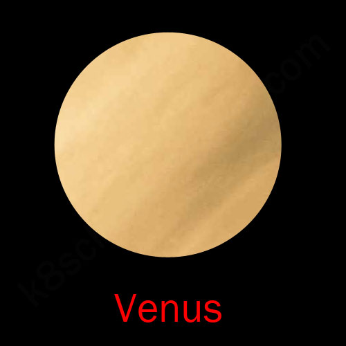 the solar system venus
