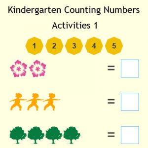 Kindergarten Counting Numbers Activities 1 Kindergarten Counting Numbers Activities 1