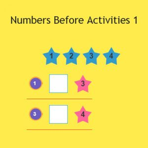 Numbers Before Activities