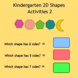 Matching Rhyming Words Activity 9 Kindergarten 2D Shapes Activities 2