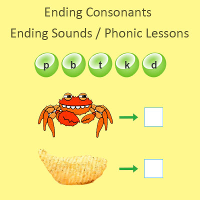 Ending Consonants Ending Sounds Phonic Lessons Ending Consonants Ending Sounds Phonic Lessons