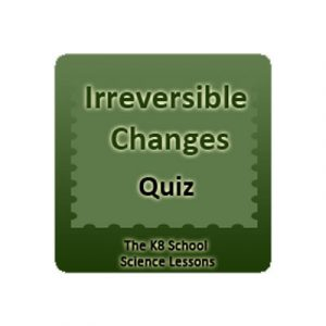 Irreversible Changes Quiz