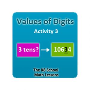 Digit Values Activity 3 Digit Values Activity 3