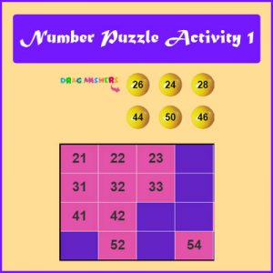 Key Stage One Number Puzzle Activity 1