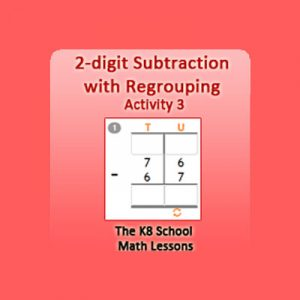 2 digit Subtraction with Regrouping Activity 3 2 digit Subtraction with Regrouping Activity 3