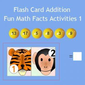 Flashcard Addition – Fun Math Facts Activities 1 Flashcard Addition – Fun Math Facts Activities 1