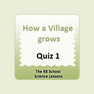 How a village grows Quiz 1 How a village grows Quiz 1