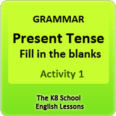 Examples of Simple Present Tense Activity 1