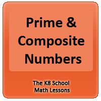 Prime and Composite Numbers Prime and Composite Numbers