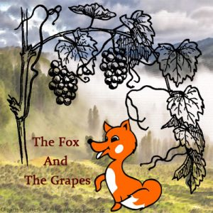 Subject and Predicate of a Sentence English Comprehension Skills Activity 4 – The Fox And The Grapes