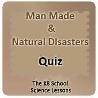 Man-made and natural disasters Quiz Man-made and natural disasters Quiz