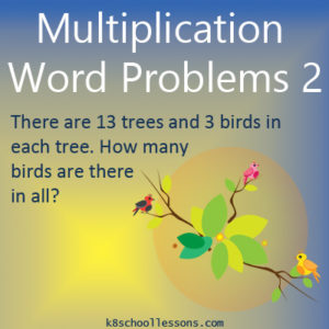Multiplication Word Problems Activity 2 Multiplication Word Problems Activity 2