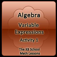 Proverbs Quiz 4 Algebra – Variable Expression – Activity 1