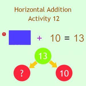 Horizontal Addition Activity 12