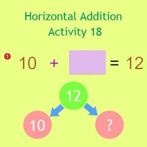 Horizontal Addition Activity 18