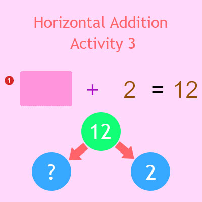 Horizontal Addition Activity 3