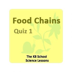 Science Food Chains Quiz 1