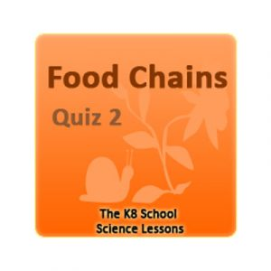 Key Stage Two Food Chains Quiz 2