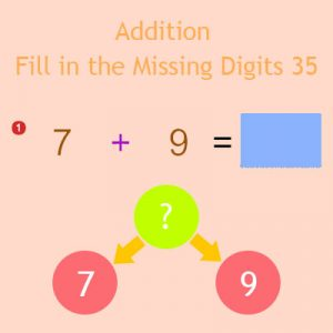 Addition Fill in the Missing Digits 35