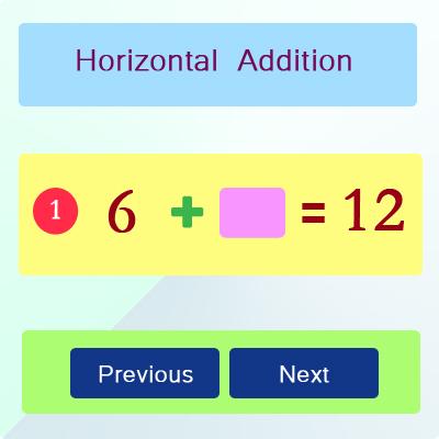 Horizontal Addition Activities 32 Horizontal Addition Activities 32