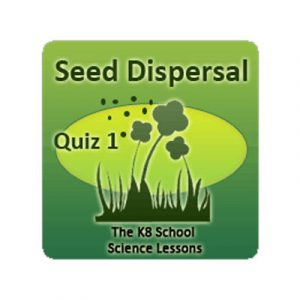 Science Seed Dispersal Quiz 1