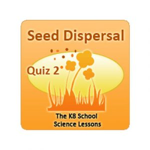Science Seed Dispersal Quiz 2