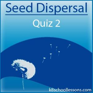 Seed Dispersal Quiz 2 Seed Dispersal Quiz 2