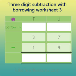 Two digit subtraction with regrouping worksheet 3 Two digit subtraction with regrouping worksheet 3