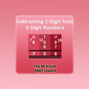 Key Stage Two Subtracting 2-digit numbers with Regrouping
