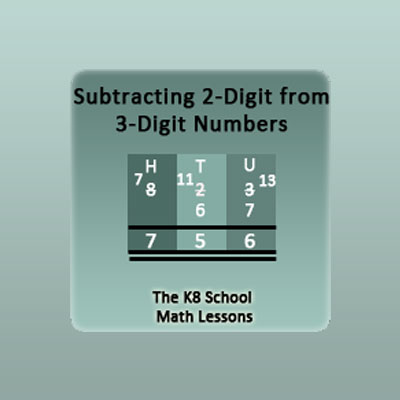 Subtraction Regrouping Archives - k8schoollessons.com