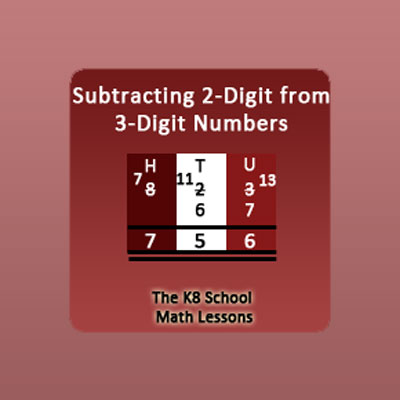 Subtraction With Regrouping Worksheets 3rd Grade 1 Borrowing