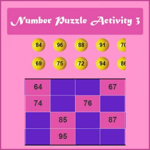 Key Stage One Number Puzzle Activity 3
