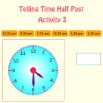 Telling Time Half Past Activity 3 Telling Time Half Past Activity 3