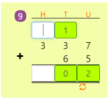 3 Digit and 2 Digit Addition with Regrouping Activity 2 3 Digit and 2 Digit Addition with Regrouping Activity 2