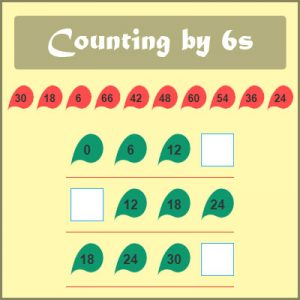 Key Stage Two Counting by 6s