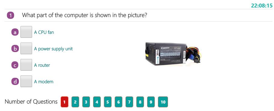 Parts of a Computer Quiz 2   Examples of Parts of a ...