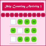 Skip Counting Activity 3 Skip Counting Activity 3