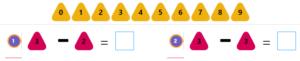 Kindergarten Subtraction Activities – 2 Kindergarten Subtraction Activities – 2