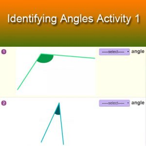 Key Stage Two Identifying Angles Activity 1