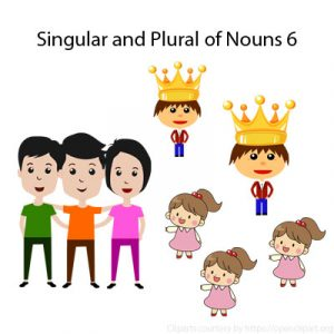 Irregular Plural Nouns Exercises 1 Singular and Plural of Nouns 6