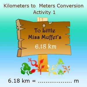 Kilometers to Meters Conversion 1