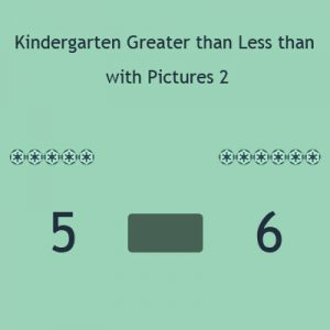 Kindergarten Greater than Less than with Pictures 2 Kindergarten Greater than Less than with Pictures 2