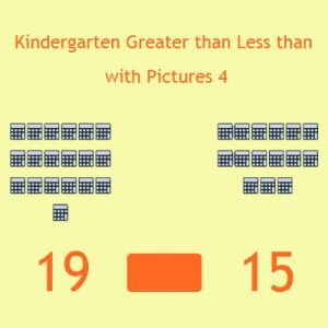 Kindergarten Greater than Less than with Pictures 4 Kindergarten Greater than Less than with Pictures 4